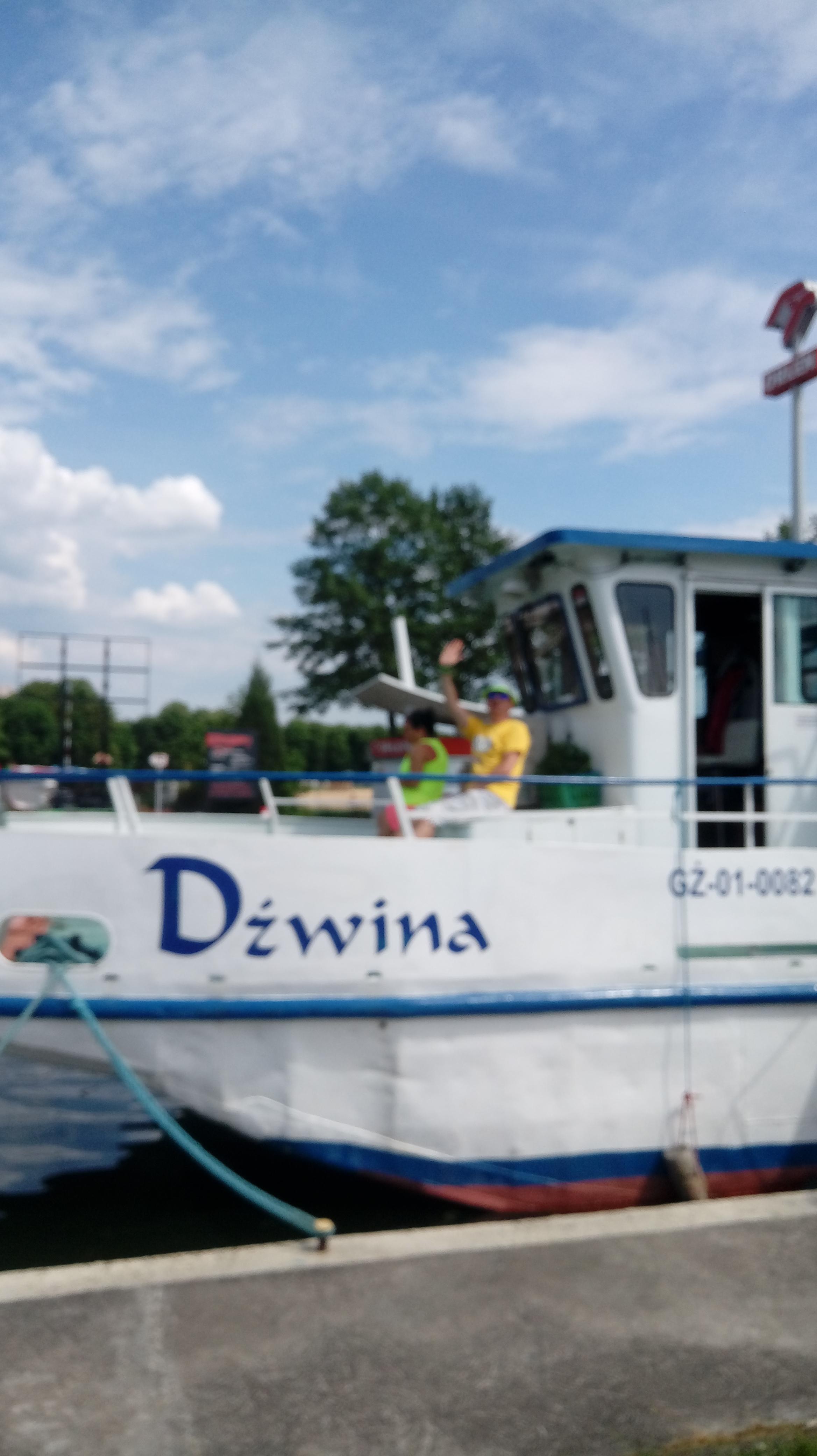 1. Nasz statek- Dźwina